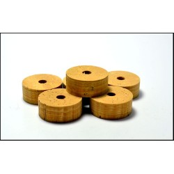 CORK RINGS NATURAL - FLOR - 1 PC
