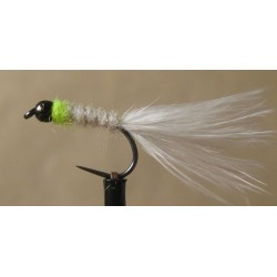 White Chartreuse lure