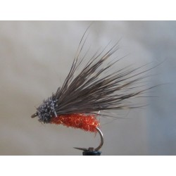 Deer Hair sedge - body red