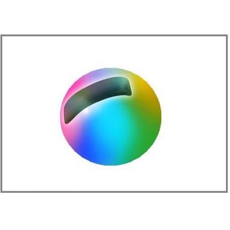 Tungsten Beads Sloted - Rainbow