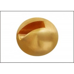 Tungsten Beads Sloted - Gold