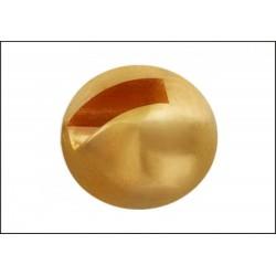 Tungsten Hlavička s drážkou - Zlatá
