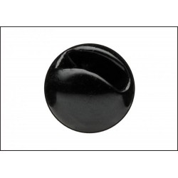 Tungsten Beads Sloted - Black