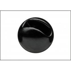 Tungsten Hlavička s drážkou - Černá