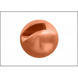 Tungsten Beads Sloted - Copper